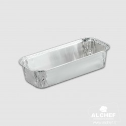 "VASCHETTA ALLUMINIO ""PLUM CAKE"" 800gr.  (50 pz)"